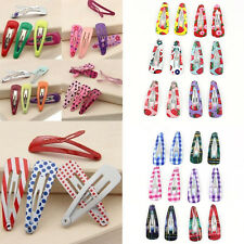 120pcs Wholesale Baby Kids Girls Slides Snap Mini Hair BB Clips Colorful Accs