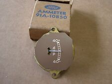 NOS 1937 1938 1939 Ford Car + Truck Dash Amp Gauge Indicator