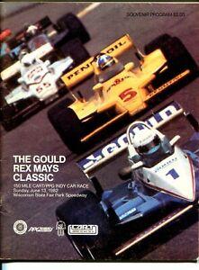 State Fair Park Speedway CART Indy Car Race Program-6/13/1982-Milwaukee-FN