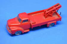 RARE Vintage Lego 1256 HO 1:87 Bedford Tow Truck Red 1950's (LG4)
