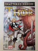THE MIGHTY THOR #9 (2012) MARVEL COMICS MATT FRACTION! PASCUAL FERRY! 1ST PRINT