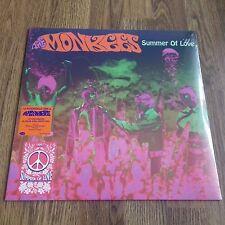 THE MONKEES - SUMMER OF LOVE   LTD PINK & GREEN SPLATTER VINYL! NEW LP SEALED