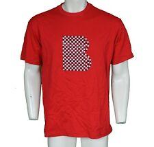 B-Lado Por Wale rojo Stud Tee Camiseta de hombre talla XL