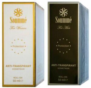 (3€/10ml) Soummé Antitranspirant Protection Roll-On Kosmetikum 50 ml