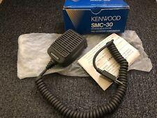 Vintage Kenwood SMC-30 Speaker Hand Microphone Ham CB Radio NOS! LOOK