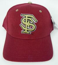 Estado de la Florida ST. Seminoles Granate Ncaa Gorra Gorro Ajustada Zephyr dh Vintage! nuevo con etiquetas!