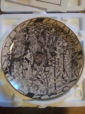 """""""Where Paths Cross� Diana Casey Silent Journey The Bradford Exchange 1994 Plate"""