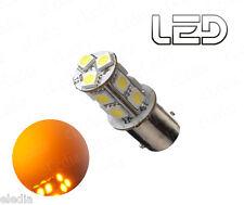 1 Ampoule BA15s P21w Orange 13 LED SMD