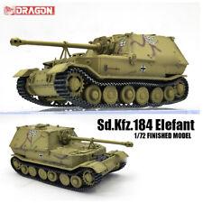 DRAGON WWII GERMAN Sd.Kfz.184 Elefant 1/72 tank model finished non diecast