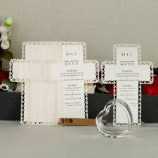 Baptism Invitations Cards Pearl Paper Laser Cut Single-page Type 12 Pcs/Lot Card