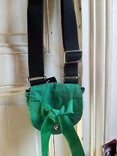 mini sac Sonia by Sonia Rykiel tissu vert neuf