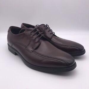 Men's ECCO Melbourne Bike Tie Leather Shoes Mink 621604-01014 mens size 11