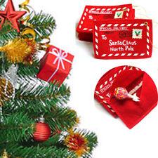 Envelope Gift Card Bag Christmas Xmas Tree Hanging Santa Claus Cute Ornaments