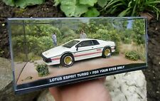 007 JAMES BOND Lotus Esprit Turbo 1:43 BOXED CAR MODEL For your eyes only MOORE