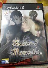 JUEGO DE PS2 SHADOW OF MEMORIES COMPLETO PAL ESPAÑA