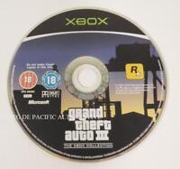 jeu seul GRAND THEFT AUTO III pour XBOX (first gen) GTA 3 spiel juego en loose