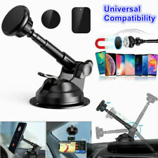 EUniversal Phone Magnetic Car Mount Holder Stand Dashboard Windshield Telescopic