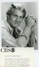 TAYLOR LACHER PORTRAIT CADE'S COUNTY ORIGINAL 1971 CBS TV PHOTO