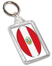 Perù Peruviano Bandiera Portachiavi Regalo di Compleanno Natale -