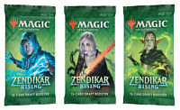 magic the gathering zendikar rising blister packs (3)