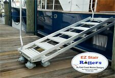 EZ Stair Rollers - Fits Marquipt Boarding Ladder Sea Stair -  Casters - Set of 4