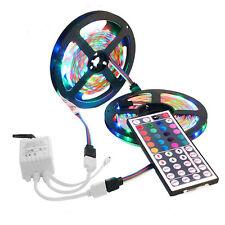10M 3528 SMD RGB 600 LED Strip light string tape+44 Key IR remote control