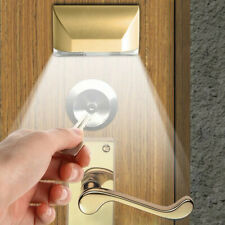 LED Intelligent Door Lock Cabinet Key Induction Small Night Light Sensor Lamp US