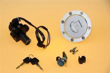 Fuel Gas Cap Cover & Ignition Switch Lock Key Fit Honda CBR600 F2 F3 1993-1998