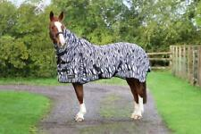 StormX Original Zebra Print Fly Rug | Horses & Ponies