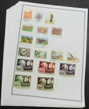 EDW1949SELL : LAOS Mint & Used collection of 432 all different on album pages