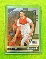 LAMELO BALL PRIZM ROOKIE CARD JERSEY #1 CHARLOTTE HORNETS RC 2020 Prizm Draft rc