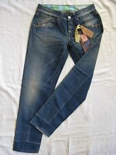 We are Replay ciaobella blue jeans denim w28/l30 low waist slim fit tapered leg