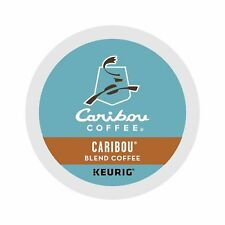 Caribou Blend Medium Roast Coffee Keurig Single-Serve K-Cup Pods 100 Count NIB