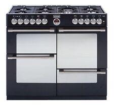 Stoves Range Cooker Sterling 1100dft Black Gas Hob / elektro-backöfen 110cm