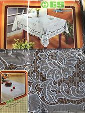 135x135 cm Nappe de table marron carré camping couverture protection motif
