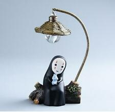 No Face LED Night Light Figure Spirited Away Anime Resin Action Figuras Gift New