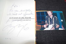 """T.c. Boyle signed signé """"a friend of the Earth"""" livre + preuve inperson rar"""
