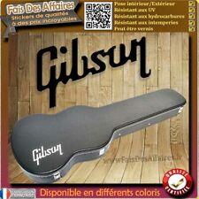 sticker autocollant Gibson Guitare étuis décoration decal Case guitare