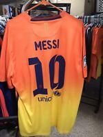 Nike 2012 2013 Messi XL S/S FC Barcelona Away Shirt Jersey Camiseta Kit NWT