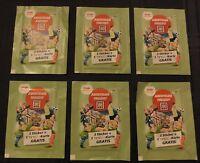 """NEU & OVP 6 real Sammelsticker """"WAS IST WAS - Abenteuer Freizeit"""" Sticker Ting"""