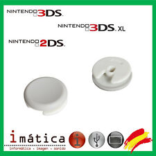 TAPA CAPUCHON JOYSTICK NINTENDO 3DS / 3DS XL / 2DS / SETA BLANCO ANALOGICO 360