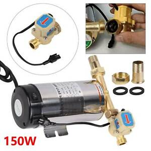 150W Water Pressure Booster Pump Automatic Shower Pump Household Home Garden