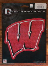 University of Wisconsin Badgers NCAA Lic. Decal full colorful Car Sticker etc.