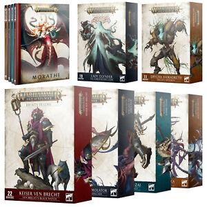 Warhammer Age of Sigmar Broken Realms Books & Narrative Warscroll Battleforces
