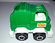 GreenTruck by Tim Mee Toys Dump Garbage Truck Plastic BZ