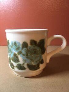 Vintage Biltons Blue Floral Coffee/Tea Mug Made in England