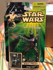 Star Wars POTJ Jango Fett ATOC Sneak Preview MOC 2001