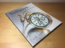 Magazine SOTHEBY'S - Important Watches - New York - 17 June 2003 - ENG - N07913