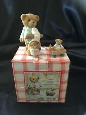 """Cherished Teddies Mick """"Helps Plan Picnic Party Menu"""" 2003 Member's Only CT0032"""