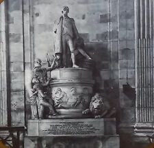 Monument to Lord Nelson, St. Pauls' Cathedral, London, Magic Lantern Glass Slide